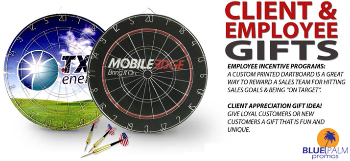 promotional full color custom dart board
